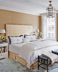 цвет кровати карамель