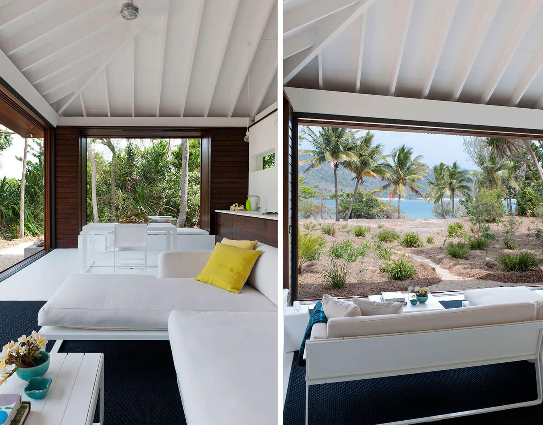 домик на пляже